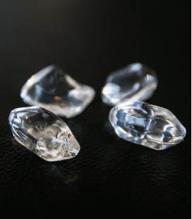 Piedras decorativas transparentes