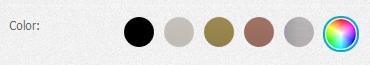 Elegir colores Personalizados